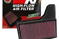 K&N Replacement Air Filter S550 Mustang (2015-2018)