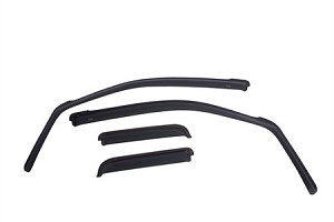 EGR  Ford Explorer In-Channel Window Visors - Set of 4 Dark Smoke  (2011-2019)