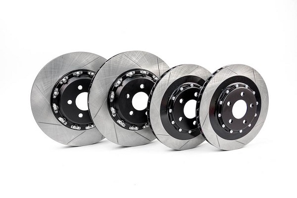 Steeda S550 Performance Pack Mustang GT 380x34mm Front & 330x25mm Rear Two-Piece Rotor Set (2015-2019)