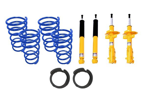 Steeda MK3 Focus ST Spring & Adjustable Shocks / Struts Suspension Kit (2013-2018)