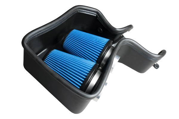 Steeda Fusion Twin Turbo 2.7L EcoBoost Cold Air Intake Kit (17-20 Sport)