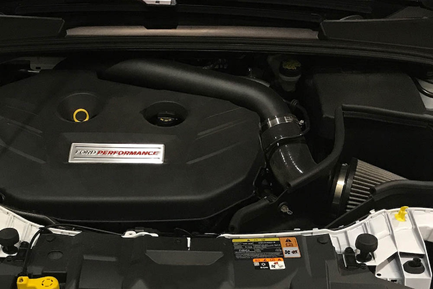 Ford Focus St Cold Air Intake >> Steeda Focus Rs Aluminum Cold Air Inlet Tube Intake 16 17 Rs