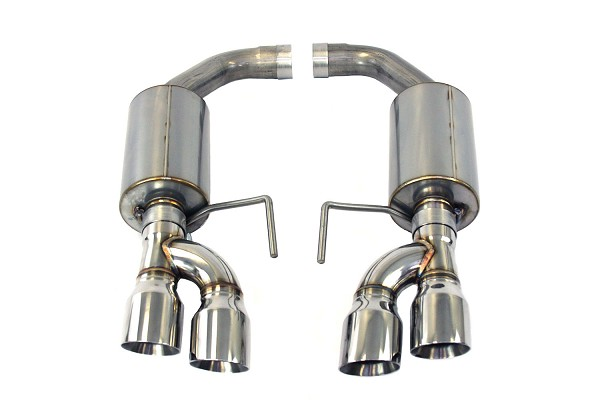 Steeda S550 Mustang GT Axle-Back Exhaust 5.0L Coyote - Aggressive Tone (2018-2020)