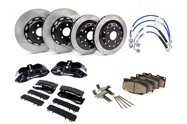 Steeda S550 Mustang Two-Piece Performance Pack Brembo Big Brake Kit  GT & Ecoboost PP (2015-2020)