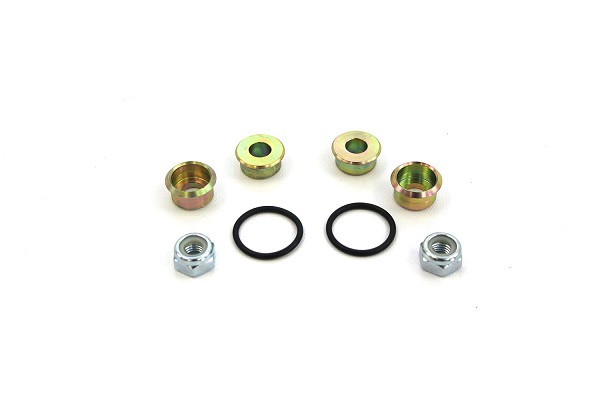 Steeda S550 Mustang 12mm Spacer Kit for Billet Rear Shock Mounts  All (2015-2020)
