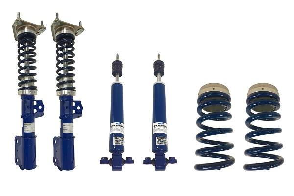 Steeda S550 Mustang Pro-Action Front Coilovers & Adjustable Rear Ride Height Kit (2015-2020)