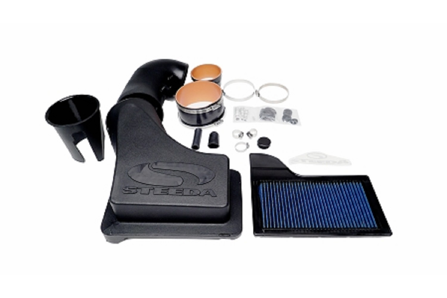 Steeda S550 Mustang ProFlow Closed Cold Air Intake 5 0L (2015-2019 GT)