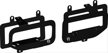 Rigid F-150 Dual Fog Light Mounts (15-17)