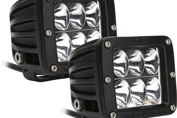 Rigid D-Series LED Driving Light - Pair (99-17 F-150/F-250/F-350)