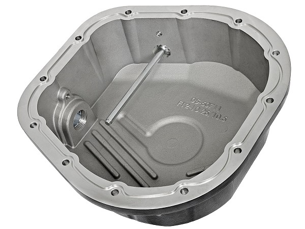 aFE Rear Differential Cover 10.25 & 10.50-12 Bolt Axles - Machined/Pro Series (86-16 F-250/F-350)