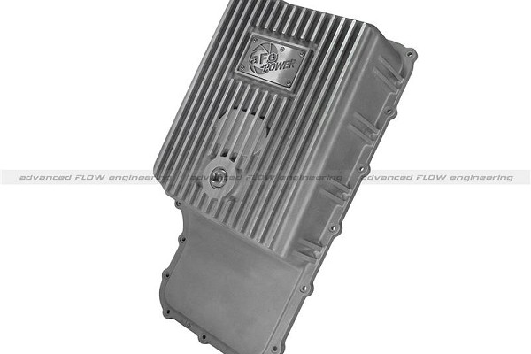 aFe Power 6R140 Raw Transmission Pan - Natural (11-16 F-250/F-350)