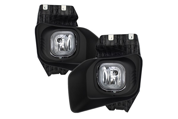Spyder F-250/F-350 XLT OEM Style Fog Lights With Switch- Clear (2011-2016)