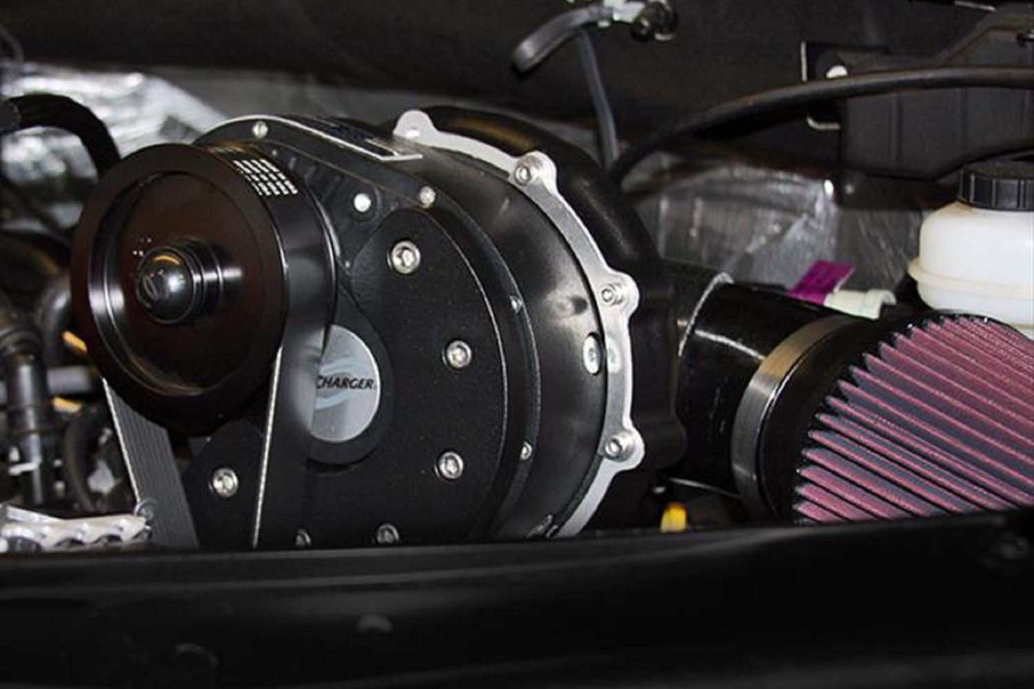 Procharger High Output Intercooled System with P-1SC-1 Supercharger for  2015-2017 F150 5 0L