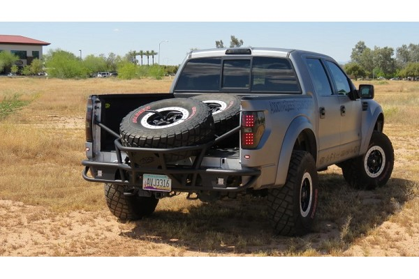 Addictive Desert Designs F-150/Raptor Race Series TC Rear Bumper (2009-2014)