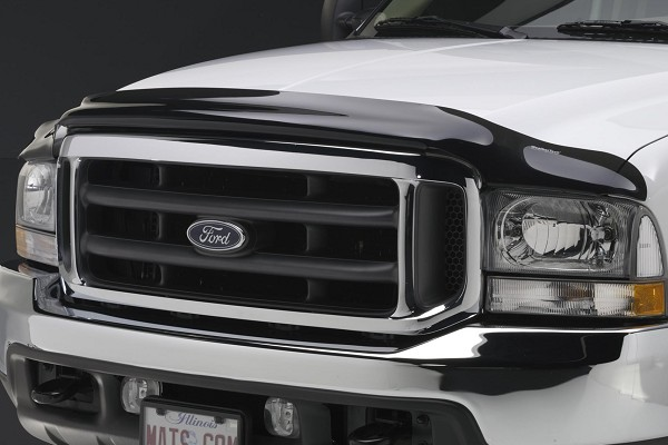WeatherTech F-250/F-350 SuperDuty Stone and Bug Deflector - Dark Smoke (2011-2016)