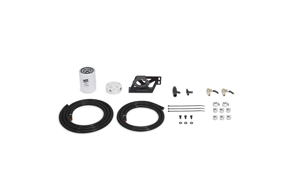 Mishimoto F-250/F-350 6.4L Powerstroke Coolant Filtration Kit - Black (2008-2010)