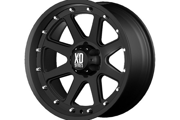 KMC XD 798 Addict Wheel - Black - 17x9 - 04-13