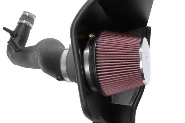 K&N Mustang 2.3L EcoBoost F/I Aircharger Cold Air Intake (2018-2019)