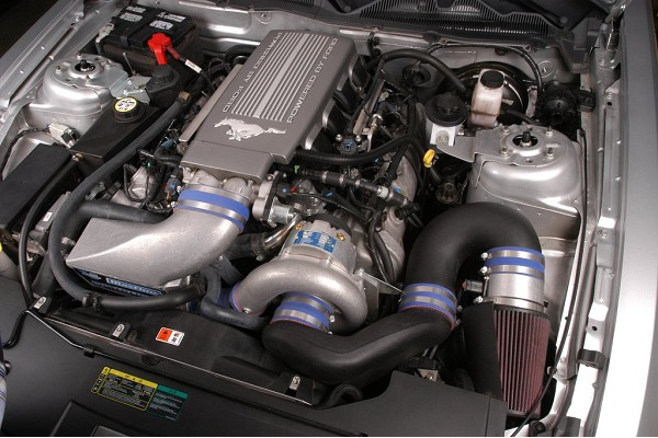 Vortech Mustang GT V-3 Si Supercharger Complete System - High Output - Polished (2010)
