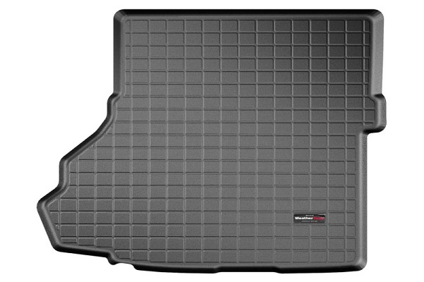 WeatherTech Mustang Black Cargo Liner with Bumper Protector - w/ Shaker Audio with Subwoofer (2015-2020)
