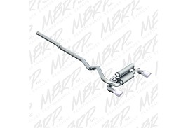 MBRP  Ford Focus RS 3in Dual Outlet Cat-Back Exhaust T409 SS (2016-2018)