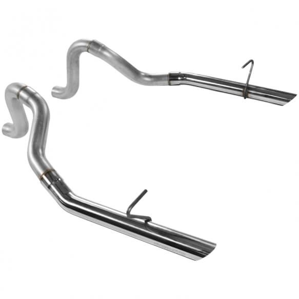 "Flowmaster Mustang Gt/Lx 5.0L Prebent Tailpipes 409S - 2.50"" Rear Exit (Pair) (1986-1993)"
