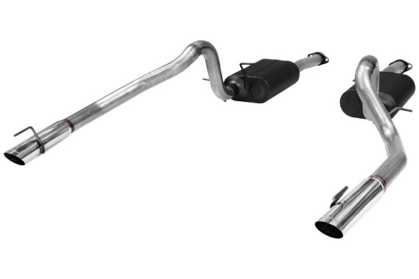 Flowmaster Mustang GT American Thunder Cat-Back Exhaust System (1999-2004)