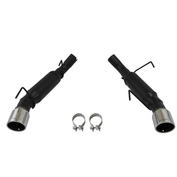 Flowmaster S197 Mustang GT & GT500 Axle-Back Exhaust System - Dual Rear Exit, Outlaw Series (2005-2010)