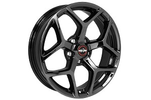 Race Star Ford Mustang 17x4.5 Black Chrome 95 Recluse Wheel (1979-2019)