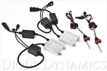 Diode Dynamics Fiesta Low Beam HID Conversion Kit (11-16)