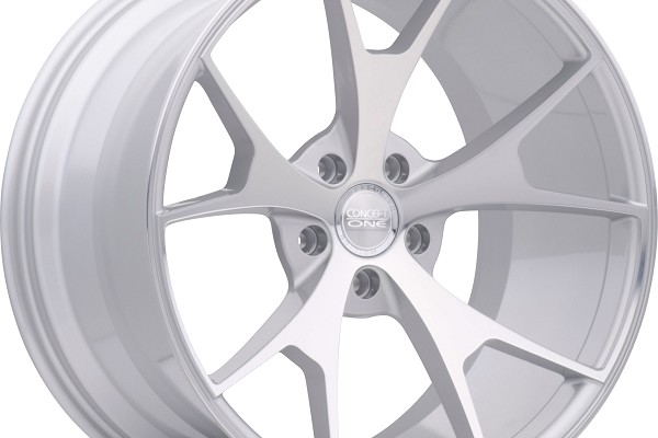 Concept One Wheels CSM5 Silver Machined 20x9-20x10 (2005-2021)