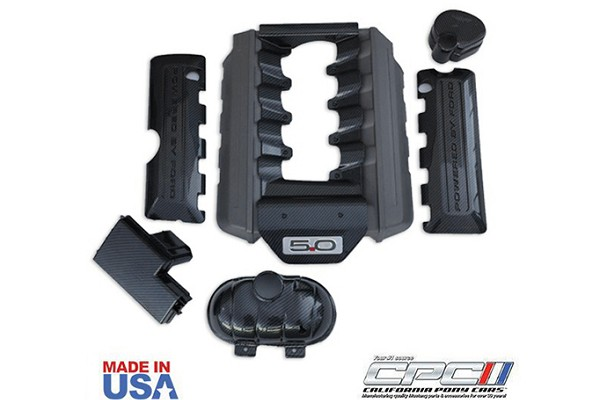 California Pony Cars Mustang GT Hydrocarbon Engine Dress Up Kit (2015-2017)