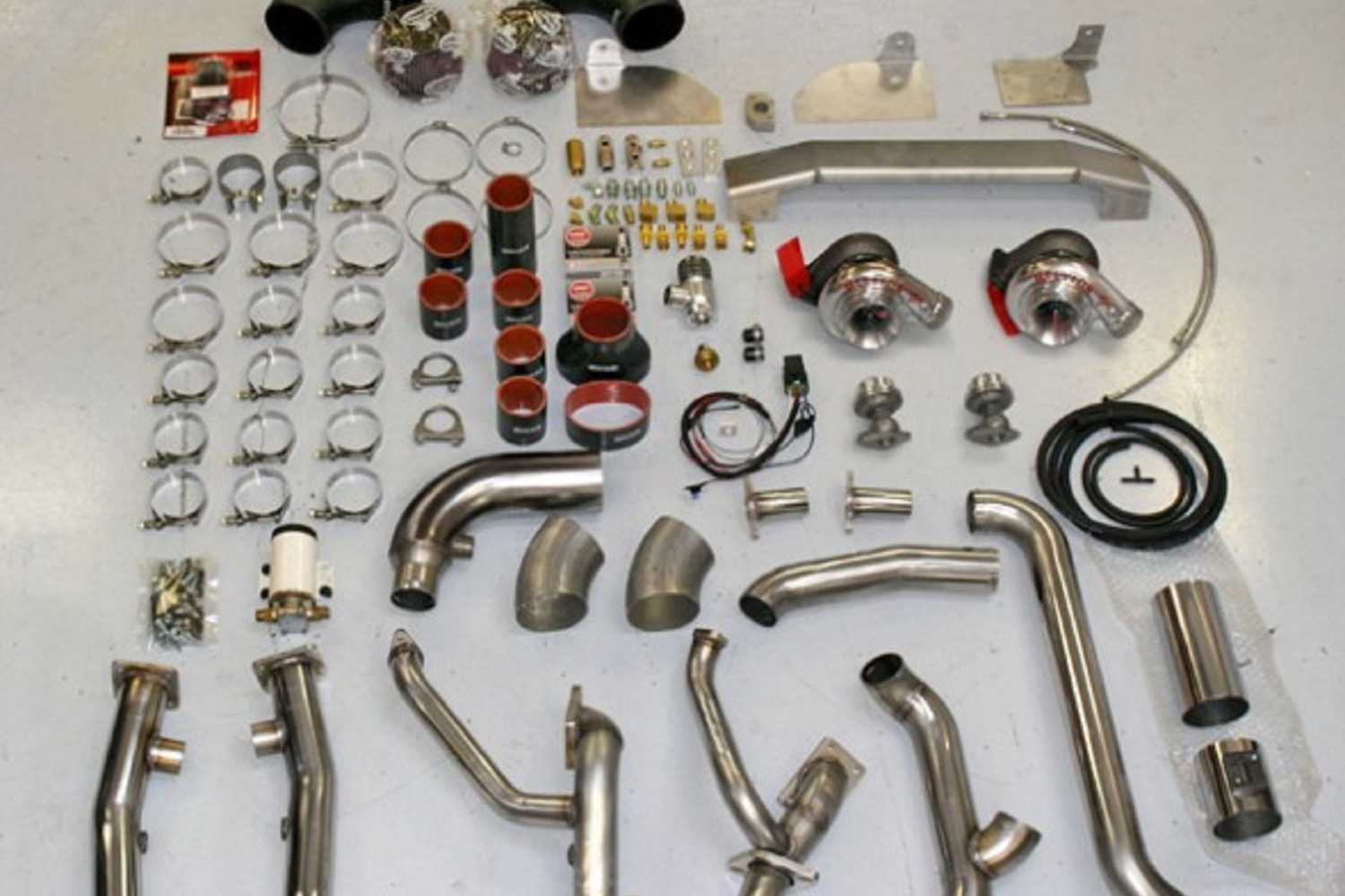 Hellion Power Systems Mustang GT500 Twin Turbo System (07-12)