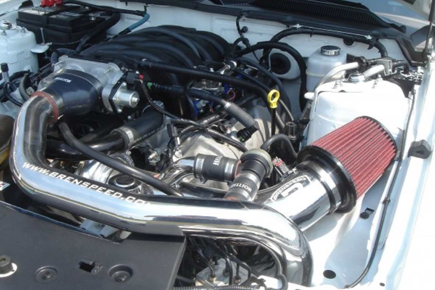 Hellion Power Systems Mustang GT Single Turbo System (05-10)
