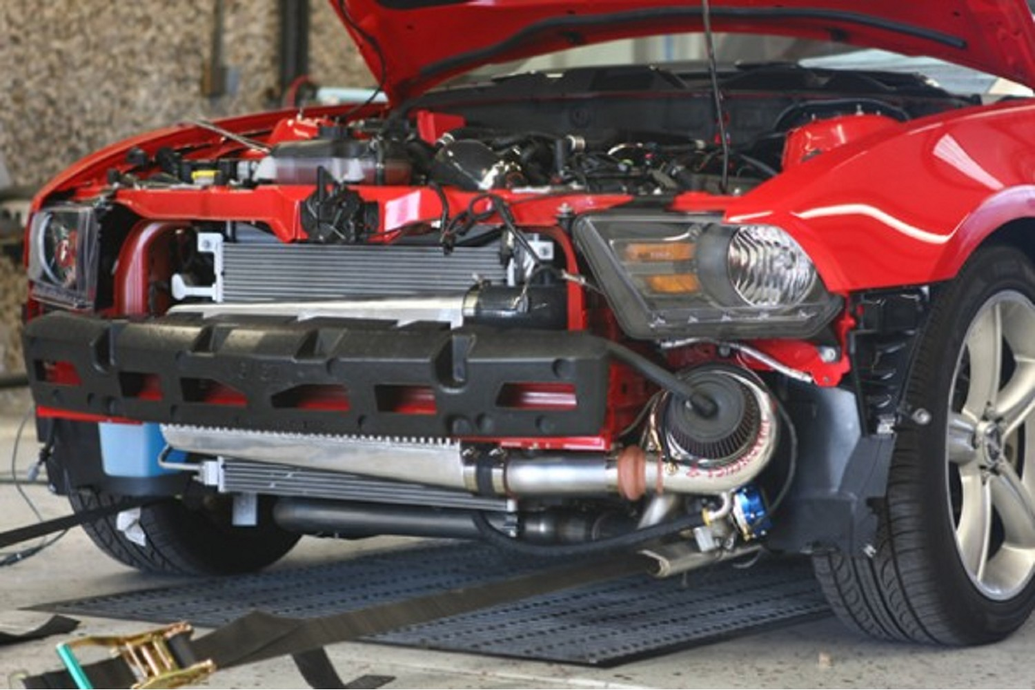 Hellion Systems Mustang Gt Boss 302 Single Turbo System