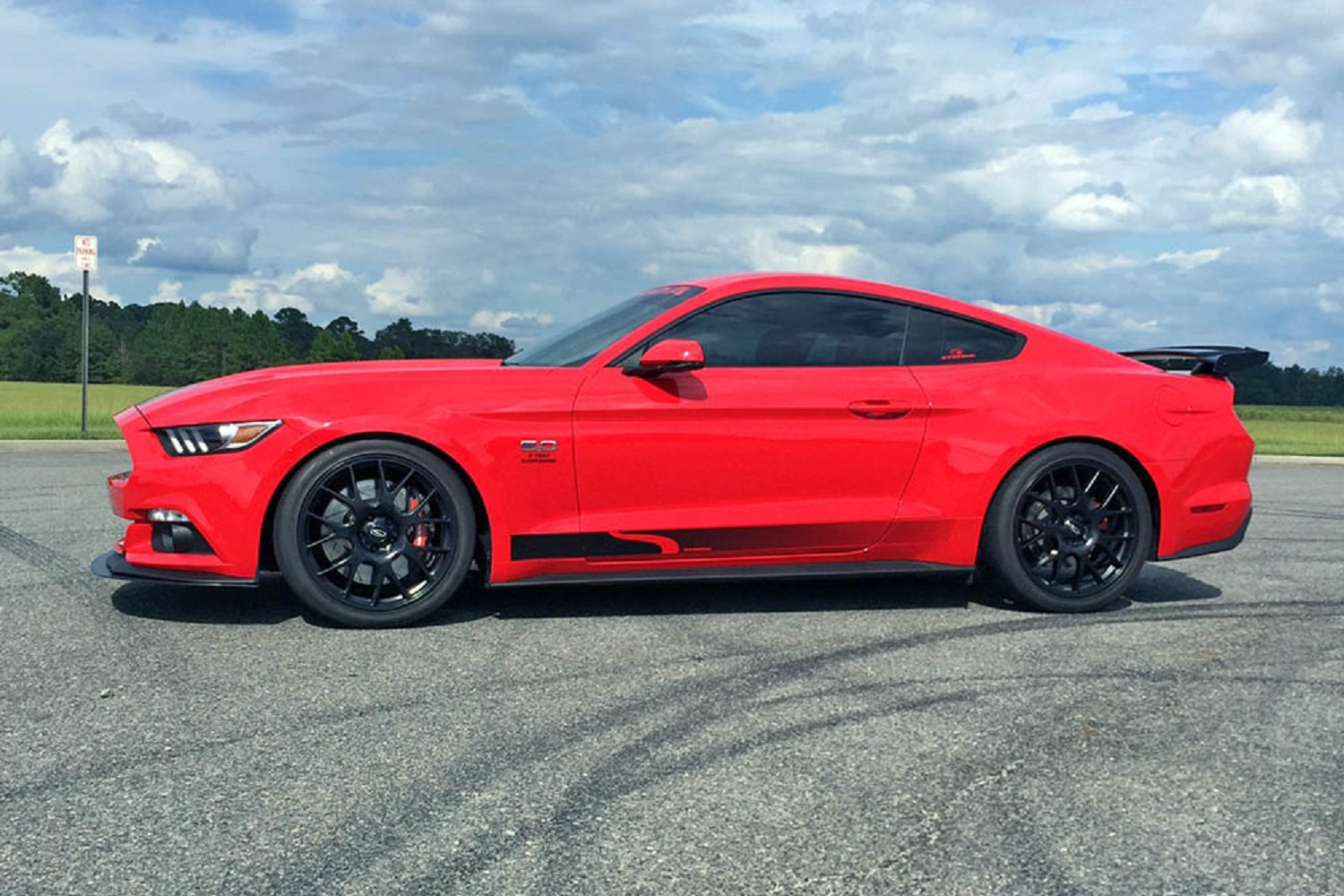 Steeda s550 mustang drag springs linear 2015 2019