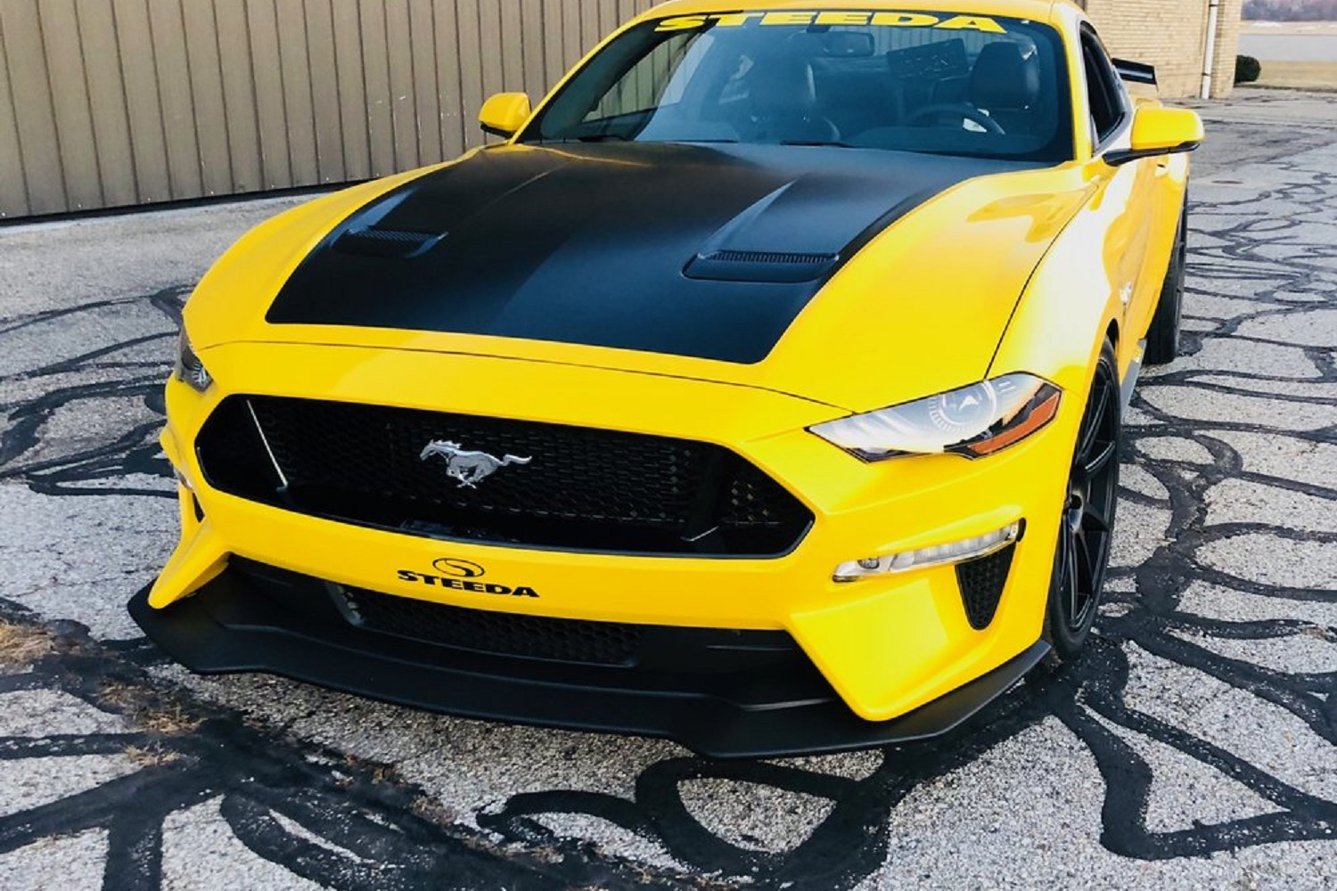 Steeda S550 Mustang Q Series Front Fascia 2018 2019 All