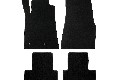 Lloyd Mats Mustang Black Floor Mats - Front & Rear (05-10 All)
