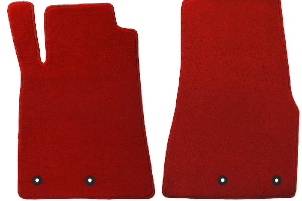 Lloyd Mats Mustang Red Floor Mats - Front only (13-14 All) DISCONTINUED