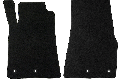 Lloyd Mats Mustang Black Floor Mats - Front only (11-12 All) DISCONTINUED