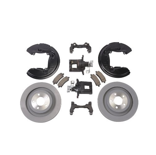 Ford Performance S550 Mustang Rear Brake Upgrade Kit (2015-2020)