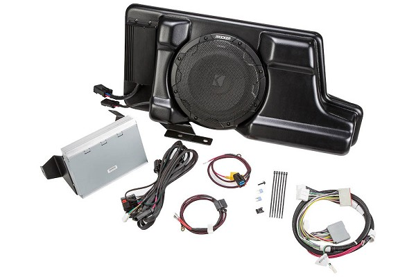 Kicker VSS PowerStage Powered Subwoofer & Amp Kit (12-16 F-250/F-350 SuperCrew)