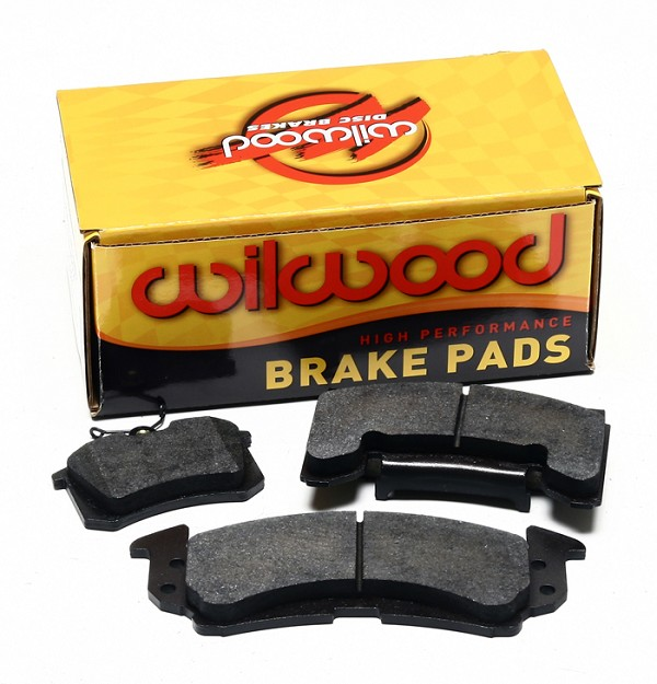 Wilwood Street Front Brake Pads 6617 BP-20 S550 Mustang w/  Aero6 Calipers (2015-2020)
