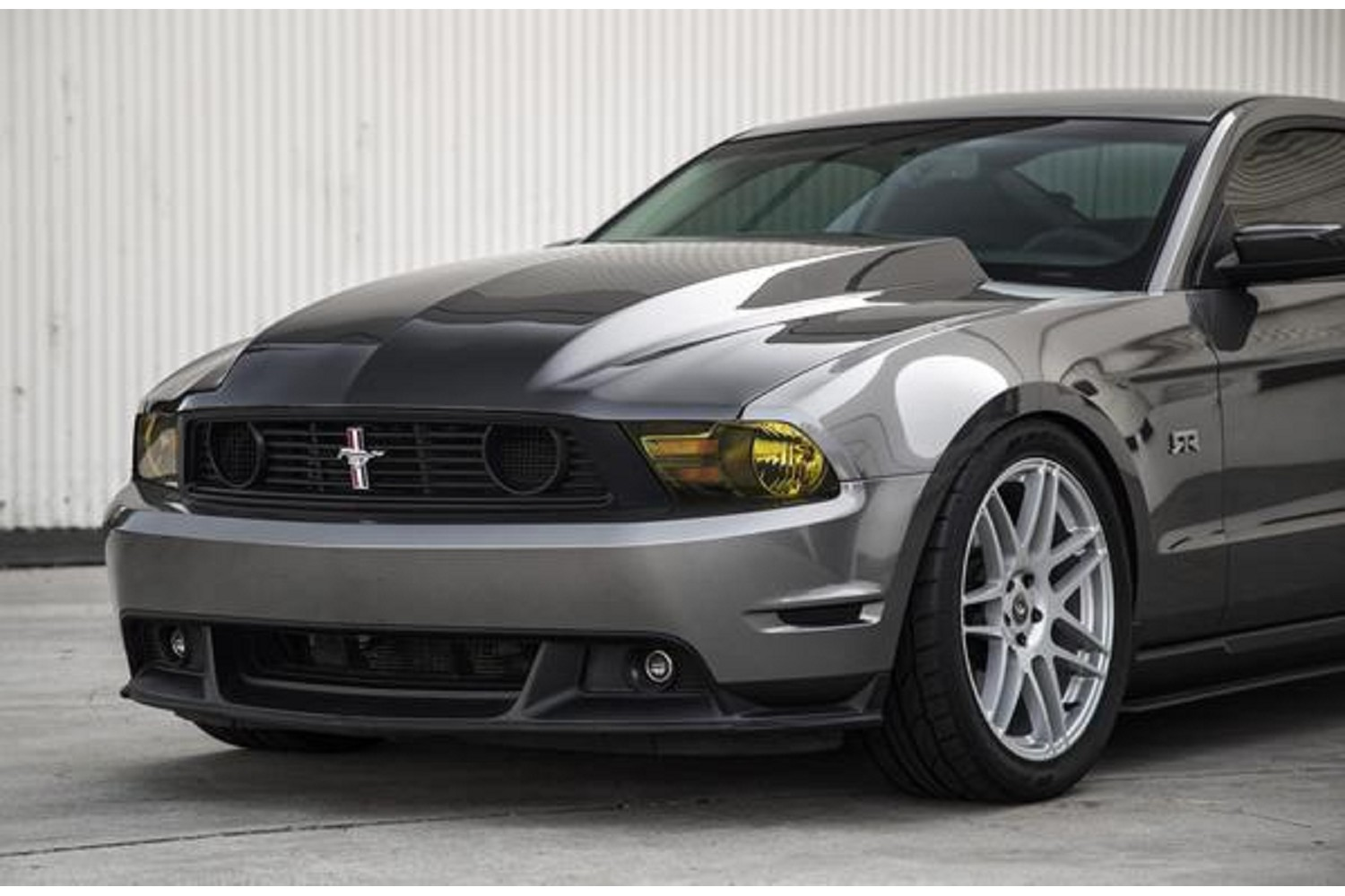 Anderson Composites Ford Mustang Type-CJ Carbon Fiber Cowl Hood (2010-2012)