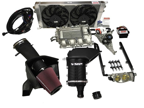 VMP Gen II-R Mustang GT/Boss 2.3L TVS Supercharger Stage 2 Kit up to 700HP (11-17)