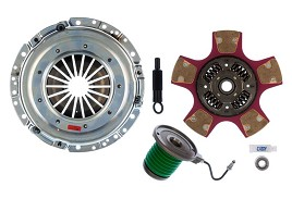 EXEDY Mach 700 Racing Stage 2 Cerametallic Clutch Kit, Paddle Style Disc, 23 Spline Mustang (2005-2010)