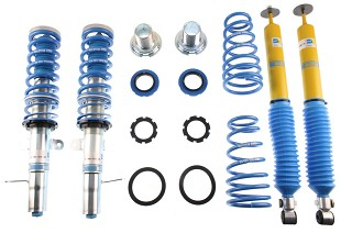 Coilover Systems; Suspension; You've come to the right place! Steeda is world-renowned for our suspension and steering components. We offer a wide-range of upgrades, from lowering springs, caster camber plates, sway bars, end links, shocks/struts, control arms, coilovers, bushings and