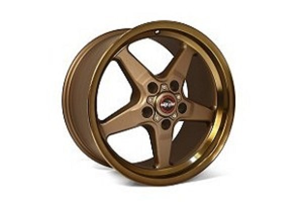 Race Star S550/S197 Ford Mustang 92 Drag Star Bronze Wheel 17x4.50  (2005-2019)