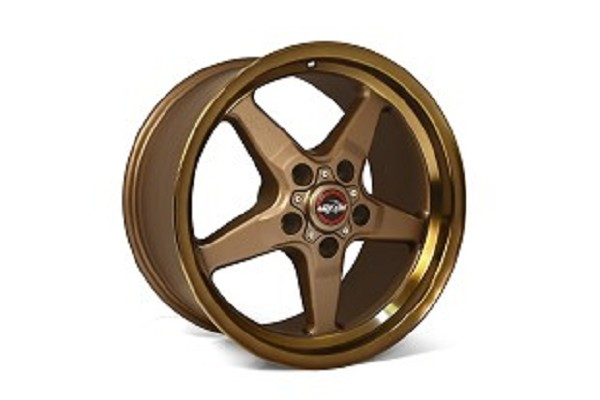 Race Star S550/S197 Ford Mustang 92 Drag Star Bronze Wheel 15x10.00 (2005-2019)