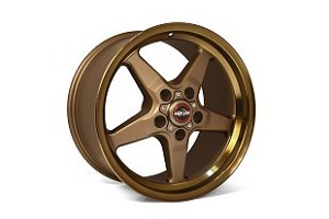 Race Star S550/S197 Ford Mustang 92 Drag Star Bronze Wheel 17x9.5 (2005-2019)